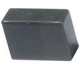 Hmatník pro isostat tmavě šedý 20x14x8mm