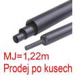 Smršťovací bužírka s lepidlem 19,1/6,3mm černá, balení 1,22m
