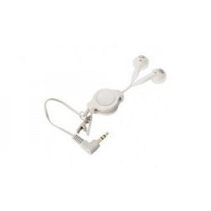 Sluchátka do uší nejen pro IPOD bílá - špunty jack 3,5mm