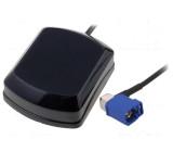 GPS anténa vnitřní Fakra kabel 5m magnet 2,4-5VDC 15mA
