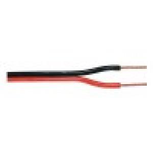 Kabel repro 2x1.50mm - černý/červený metráž