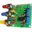 Elektronická stavebnice regulátor barvy zvuku