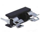 Pouzdro trubičkové pojistky 22mm konektor do plošného spoje