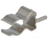 Montážní držáky trubičkové pojistky rozteč 5,5mm průměr 2,2mm