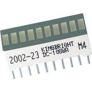 DC-10EGWA LED display sloupec   (10x) / červená (10x)