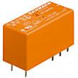RT424024 Relé elektromagnetické DPDT Ucívky:24VDC 8A/250VAC 8A/30VDC