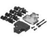 Kryt pro konektory D-Sub D-Sub HD 26pin, D-sub 15pin stíněný
