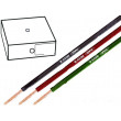 Kabel H05V-K licna Cu 0,75mm2 PVC růžová 300/500V