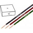 Kabel H05V-K licna Cu 1mm2 PVC černá 300/500V