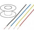 Kabel UL1007 licna Cu 24AWG PVC černá 300V 18m