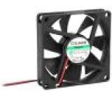 Ventilátor DC axiální 12VDC 70x70x15mm 38,87m3/h 26,5dBA