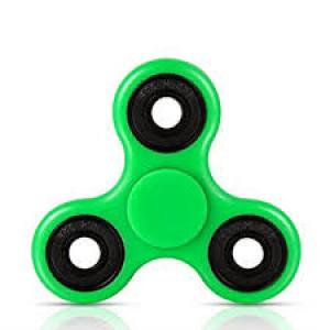 Fidget Spinner zelený / černá ložiska