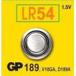 GP 189 (AG10, LR54, LR1130, V10GA), 1,5V