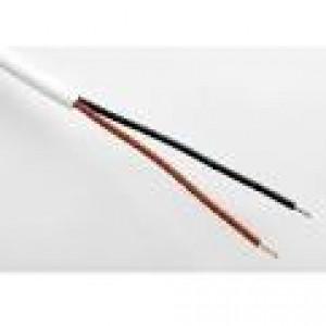 Kabel V03VVH2-F 2Ax0,75 bílá kulatá