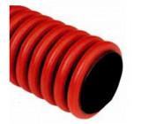 Trubka zemní ohebná KOPOFLEX 40 červená