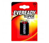 Baterie Eveready Zinc (shrink) 9V 6F22 blistr