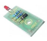 Stavebnice LED dioda na 230V