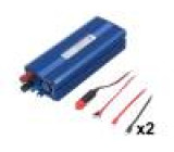 Měnič: automobilový dc/ac 500W Uvýst:230VAC 22÷30VDC 92% IP21