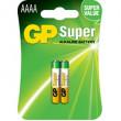 Baterie: alkalická 1,5V AAAA Počet čl:2