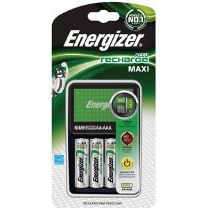 Energizer Maxi + 4x AA 2000mAh nabíječka s bateriemi