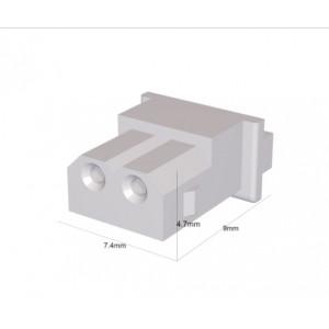 Zástrčka kabel-pl.spoj zásuvka PIN:2 bez kontaktů 2,5mm SPOX