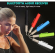 BLUETOOTH AUX vstup do auta i sport bílý