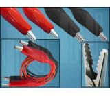 PRZEW-POM-5 Měřicí šňůra 1m 60VDC černá a červená 2x měřicí šňůra