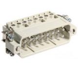 Konektor HAN vidlice Han A 16 PIN 16+PE velikost 16A 16A