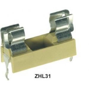 Pouzdro trubičkové pojistky 5x20mm 6,3A Pracuje s ZHL31H