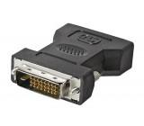 Adaptér DVI-I (24+5) zásuvka, DVI-D (24+1) vidlice