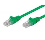 Síťový kabel U/UTP 5e propojení 1:1 licna CCA PVC   1m