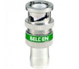 Zástrčka BNC vidlice zajištění maticí 75Ω RG6 500cyklů