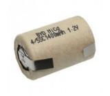 Aku baterie Ni-Cd 4/5SC 1,2V 1,4Ah Vývody pájecí očka