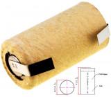 Aku baterie Ni-MH SubC 1,2V 2,8Ah Vývody pájecí očka