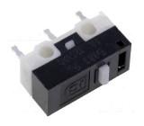 Mikrospínač bez páčky SPDT 1A/125VAC ON-(ON) 1-polohové IP40