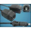 Auto adaptér rozdvojka do zapalovače na 2 zařízení kabelová s maximálním zatížením 10A