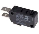 Mikrospínač bez páčky SPDT 22A/250VAC ON-(ON) 1-polohové