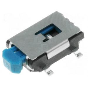 Mikrospínač SPST-NO 0,05A/12VDC OFF-(ON) 1-polohové -20-70°C