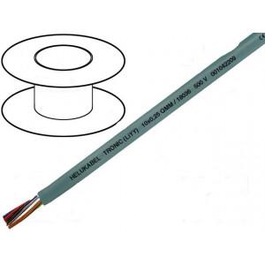 Kabel LiYY licna CU 4x0,14mm2 PVC šedá 350V LIYCY, LIYY