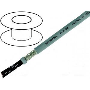 Kabel LiY-CY 3x1mm2 PVC šedá 300/500V