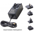 Zdroj spínaný 12V 2A konektor 5,5/2,1mm Adaptér je možné použít v EU,UK,USA 24W