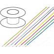Kabel LiYv licna Cu 0,14mm2 PVC tmavomodrá 500V