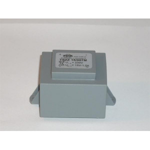 Transformátor: zalévaný 18VA 230VAC 15V 1,2A Montáž: PCB IP00