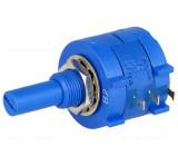 Potenciometr axiální víceotáčkový 5kΩ 2W ±5% 6,35mm lineární