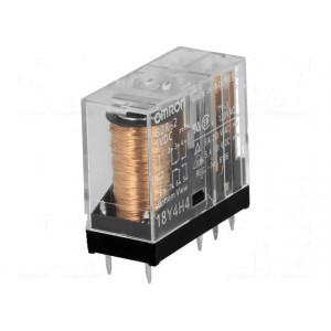 G2R-2-48VAC Relé elektromagnetické DPDT Ikontaktů max:5A max380VAC 30mΩ
