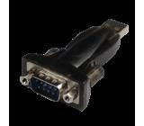 Adaptér USB-RS-232 D-Sub 9pin vidlice, USB A vidlice