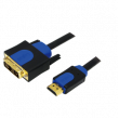 Kabel HDMI 1.3 DVI-D (18+1) vidlice, HDMI vidlice 10m