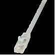 Kabel U/UTP 5e propojení 1:1 CCA šedá 5m