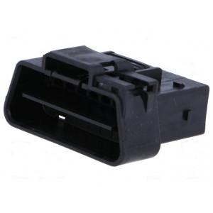 Konektor diagnostický OBD II zástrčka vidlice 16 PIN 30V