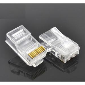 Konektor RJ50 zástrčka 10 PIN vývody 10p10c na kabel